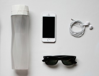 Hidrate Me is a smart water bottle that forces you to drink water!