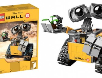 The Lego Wall-E set is too cute for words; check out the first images
