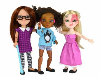 Makies Dolls Focus on Dolls With Disabilities, Birthmarks and So On