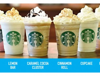 Starbucks' newly launched limited edition Frappuccino flavors sound like heaven on earth