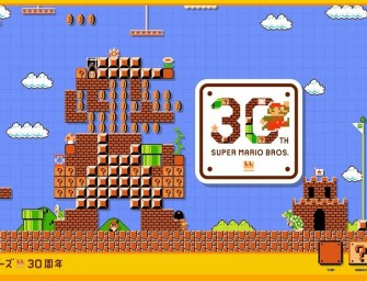 Super Mario Bros celebrates 30th Anniversary with a new website!