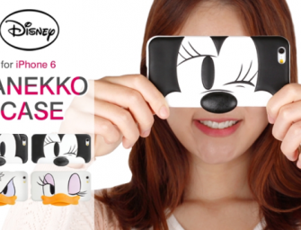 The Disney Characters Manekko i Case for iPhone 6 turns your face into that of your favorite cartoon