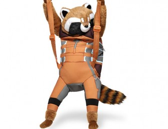 Marvel Guardians of the Galaxy Rocket Raccoon Backpack Buddy