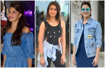 bollywood denim looks